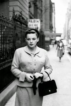 Judy Garland, New York City, 1950