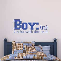 Little Boy Wall Decal Noise Definition