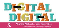 Aligning Alphas For Your Page Titles | Scrapaneers