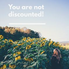 You are NOT discounted! Speak Life, Give It To Me, Encouragement, How Are You Feeling, It Cast, God, Thoughts, Feelings, Movie Posters
