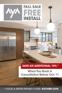Don't miss out on these huge savings! Kitchen Cabinet Manufacturers, Kitchen Cabinetry, Design Consultant, New Kitchen, Service Design, Kitchen Design, Kitchens, Modern, Furniture
