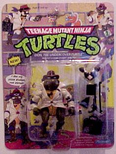 Teenage Mutant Ninja Turtles Action Figures: Don, the Undercover Turtle
