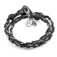 Ride it Hard Glass Cabochon Bracelets Tressé Bracelet En Cuir Bracelet