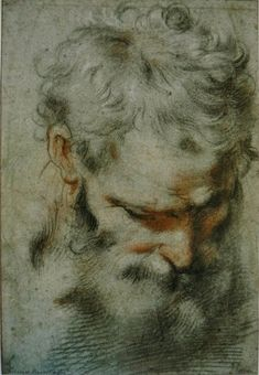 Old Master Figure Drawings | tags 16th century barocci drawing drawings federico barocci pastel ...