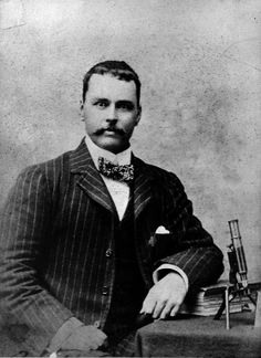 Major Ronald Ross, doctor in the Indian Medical Service, Darjeeling 1898.