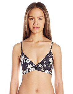 Billabong Women's Festival Floral Wrap Bikini Top - http://darrenblogs.com/2016/05/billabong-womens-festival-floral-wrap-bikini-top/
