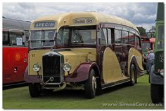 The Albion Valiant was amongst the Valkyrie, Victor and Venturer models produced by Albion for bus and coach bodywork in the 1930s. This 1934 Valiant was rebodied by Harringtons of Brighton in 1947 with this Dorsal Fin body