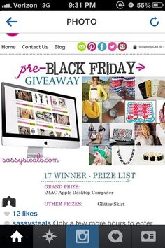 Sassy steals giveaway