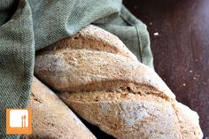 Whole grain french bread--Bake Day! Once a week decide to bake everything you will use from scratch for that week. That way you have it already and no excuses...makes it easier to care for house/kids and still have healthy homemade options.