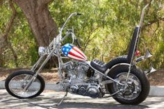 "This Saturday the last Easy Rider chopper will go up for auction, and as the lone survivor, it's expected to fetch something north of $1 million. But 45 years after the film was released, the builders behind ""Captain America"" are beginning to get the recognition they deserve."