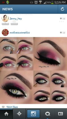 Gorgeous! Can't wait to get this look with my new Motives Mavens Element Palette. Get the look on motivescosmetics.com/cmlenar