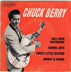 50s Rock And Roll, Chuck Berry, Rock Of Ages, Vintage Records, Rhythm And Blues, Rockn Roll, Extended Play, Music Albums, Lps