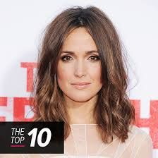 Image result for rose byrne hair