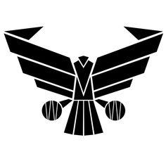 Romulan symbol tattoo