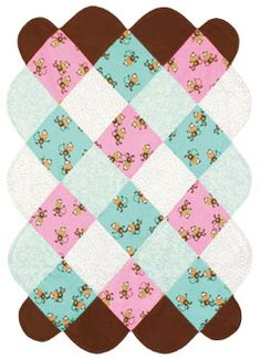 Cute Baby Quilt DIY Project - sewcraftproject.ca