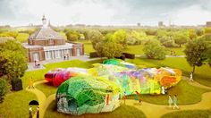 It wouldn't be summer in London without the ever-bonkersSerpentine Gallery Pavilion. Over the years we've cosiedup beneath a giant puddle, supped our flat whites inside aninflated marshmallow, e...