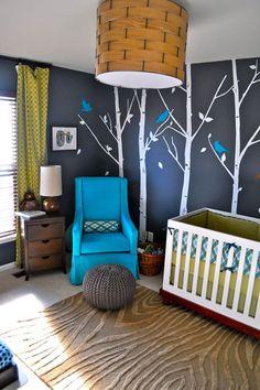 Bird/tree walls!