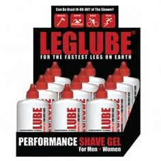 LEG LUBE® Performance Shave Gel  www.leglube.com