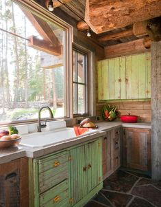 It's tough to find low-income kitchen examples on pinterest.. #LittleCabin