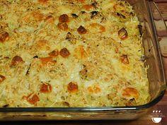 Pastís de patata i porro // Pastel de patata y puerro