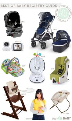 """Every year we name the """"Best of Baby Products"""" so we thought what better way to start the New Year than with a brand spankin' new baby registry guide? We'"""