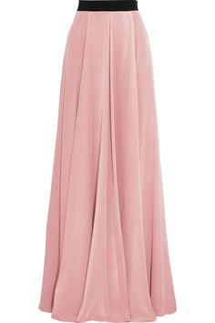 ROKSANDA Flinders Draped maxi skirt in silk crepe. Diy Maxi Skirt, Maxi Skirt Winter, Maxi Skirt Outfits, Casual Dress Outfits, Dress Skirt, Casual Shorts, Designer Clothes Sale, Discount Designer Clothes, Home Design