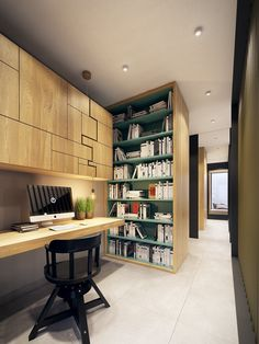 homedesigning: (via Inspiring Home Office) http://ift.tt/2cisEvH