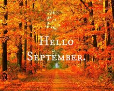 Hello September september hello september september quotes welcome september…