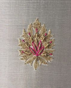 Motifs #lavanyalondon Zardosi Embroidery, Hand Work Embroidery, Embroidery Suits, Beaded Embroidery, Indian Embroidery Designs, Hand Work Design, Raw Silk Fabric, Kurti, Bespoke