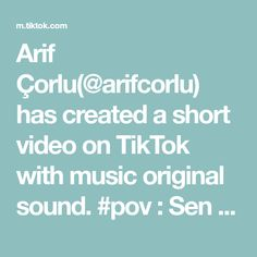 Arif Çorlu(@arifcorlu) has created a short video on TikTok with music original sound. #pov : Sen yinede arkana güven 😌 Arif Arif ya 🔥 #arifcorlu #slowmo #foryou #fyp #trend #tiktok Nishinoya, Kageyama, Hinata, Haikyuu, How To Play Minecraft, Love Songs, Viral Videos, Get One, The Originals