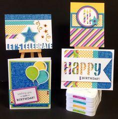 Cricut with Heart: Birthday Cards
