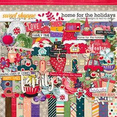 Home for the Holidays by lliella designs & red ivy design. Perfect for all your Christmas  holiday memories