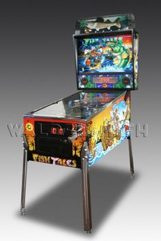 1992 Fish Tales Pinball Machine