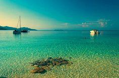 Vathi beach Thassos island