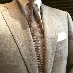 @danielmeul is all business... Be the same and buy our knitted solid ties online! www.pauwmannen.com #violamilano #vm #pauw #pauwmannen #madeinitaly #handmade #ss15 #cesareattolini #attolini #finamore