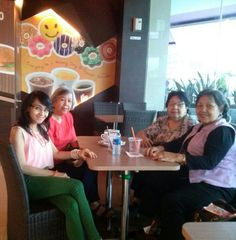 bday gathering with aunties