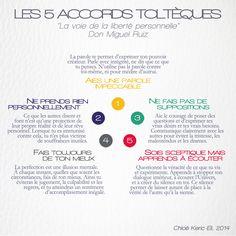 Les 5 Accords Toltèques, par Don Miguel Ruiz. #life #coaching #inspiration #motivation