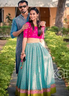 chania choli Indian Skirt, Indian Dresses, Indian Outfits, Indian Attire, Indian Wear, Bride Indian, Saree Dress, Dress Skirt, Chania Choli