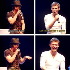 clawsy-klaus! love Ian and Joseph! HOW CUTE
