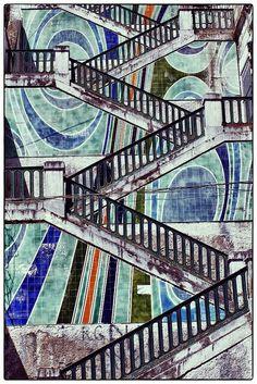 Algiers l'escalier des artistes