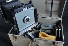 ANSEL ADAM'S 4×5 CAMERA TO GO UP FOR AUCTION