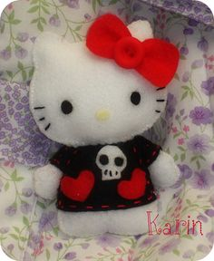 I love Hello Kitty goth.