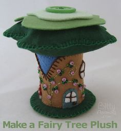 Make-fairy-house-felt-plushie