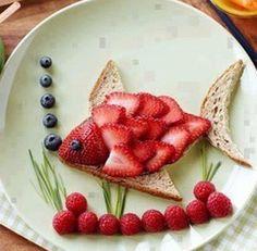 Fishy breakfast