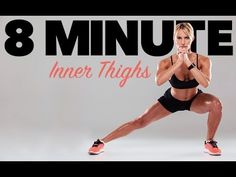 8 Minute Inner Thighs Workout (TOTAL INNER THIGH BURN!!)