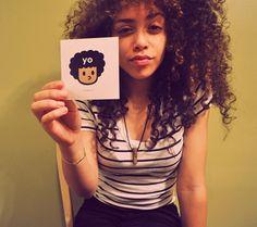 hair curly natural
