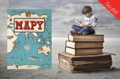 """Vydejte se s námi na nezapomenutelnou cestu kolem světa! Velkoformátový atlas světa polských grafiků a ilustrátorů Aleksandry a Daniela Mizielińských je originálním ilustrovaným průvodcem (nejen) pro dětské čtenáře, zahrnuje 6 kontinentů, 42 zemí, 4000 obrázků a dvě nová písma. Kniha dosud vyšla ve 23 jazycích. V češtině vydalo nakladatelství Host. """"Mapy neukazují jen hranice, města,…"""