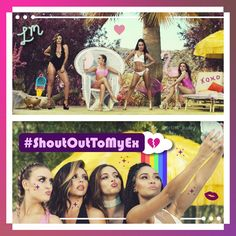 #ShoutoutToMyExMusicVideo #ShoutoutToMyEx #LittleMix #jade #JadeThirwall #jesy #jesynelson #Perrie #PerrieEdwards #leighanne #leighannepinnock #girlband #singers #dancers #beautiful #glitter #sparkle #song #music #musicvideo #newalbum #newmusic #single #heartbreak #edit #fan #fanart #colorful