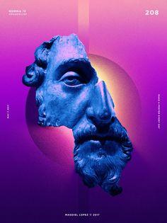 Un póster al día, el proyecto personal de Magdiel López | Blog de diseño gráfico y creatividad.