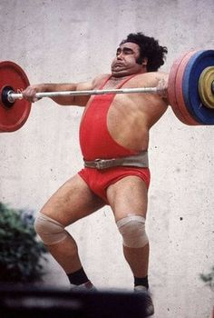 Vasily Alekseyev. 80 world records and the face of weightlifting in his time.